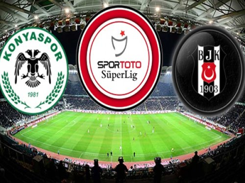 Atiker Konyaspor-Beşiktaş-GENİŞ ÖZETİ