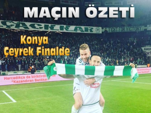 Konyaspor Antalyaspor Kupa Maçı Özeti