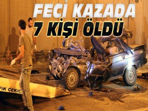 Konya'da Katliam Gibi Kaza:7 Ölü