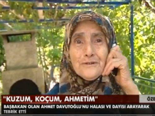 Davutoğlu'na Akrabalarından Telefon
