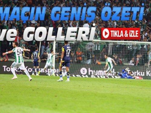 Konyaspor-Fenerbahçe-ÖZET