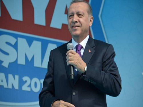 Erdoğan Konya'da Konuştu