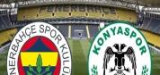 Fenerbahçe-Atiker Konyaspor ÖZET